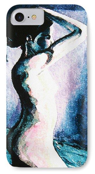 Violet Nude Phone Case by John Keaton