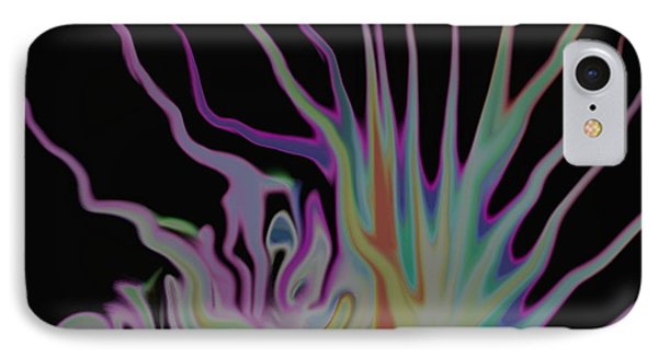 Visionary An Abstract Digital Painting IPhone Case by Gina Lee Manley
