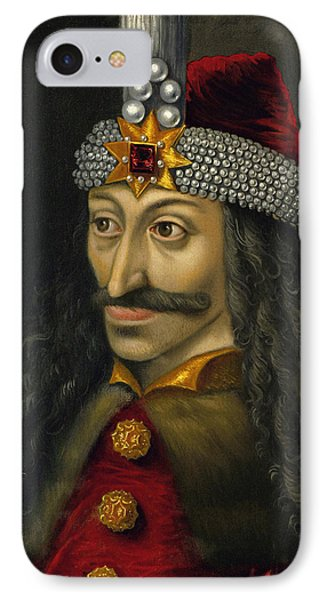 Vlad The Impaler Portrait  IPhone Case by War Is Hell Store