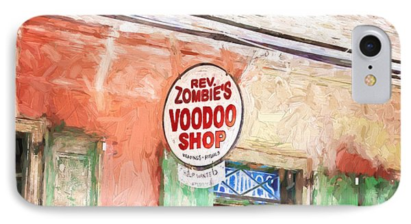 Voodoo Shop IPhone Case by Scott Pellegrin