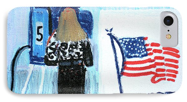 Voting Booth 2008 IPhone Case by Candace Lovely