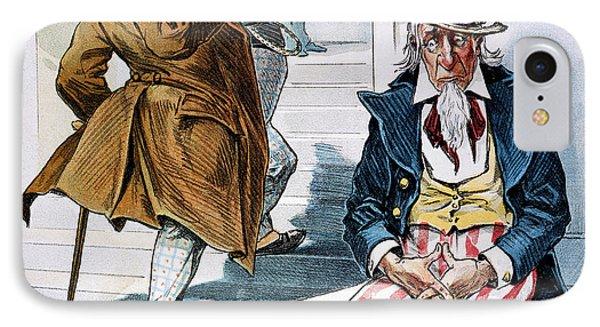 W. Mckinley Cartoon, 1896 Phone Case by Granger