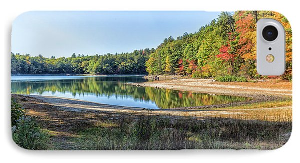Walden Pond IPhone Case by Brian MacLean