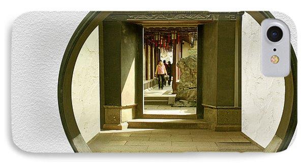 Walk Into The Light - Yuyuan Garden Shanghai China Phone Case by Christine Till