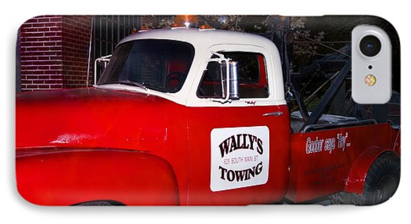 Wallys Service Truck IPhone Case by Bob Pardue
