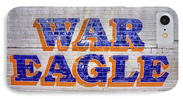 War Eagle IPhone Case by JC Findley