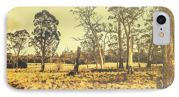 Waratah Tasmania Bush Landscape IPhone Case by Jorgo Photography - Wall Art Gallery