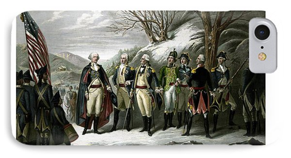 Washington And His Generals  Phone Case by War Is Hell Store