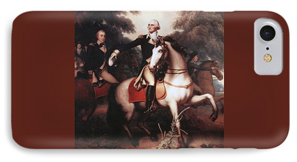 Washington Before Yorktown IPhone Case by Rembrandt Peale