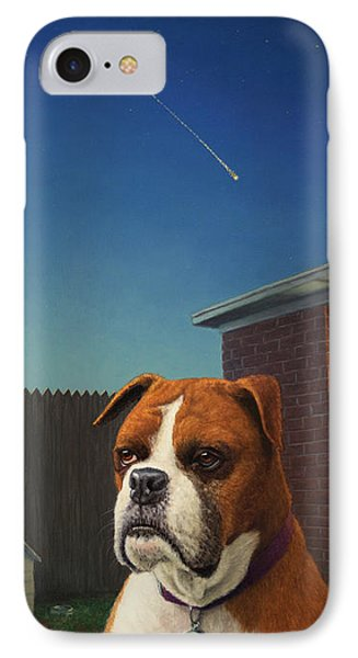Watchdog IPhone Case by James W Johnson
