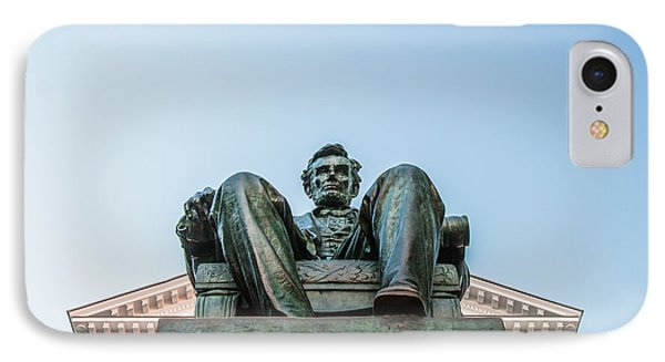 Watchful Abe IPhone Case by Todd Klassy