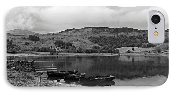 Watendlath Tarn In The Lake District Cumbria Phone Case by Louise Heusinkveld