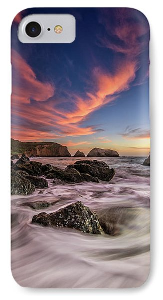 Water And Fire IPhone Case by Rick Berk