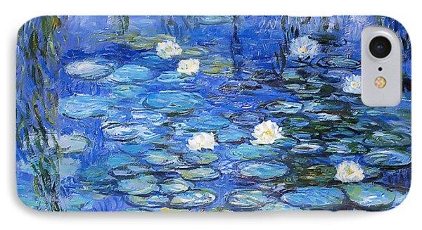 water lilies a la Monet IPhone Case by Joachim G Pinkawa