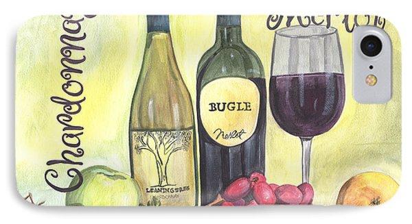 Watercolor Wine IPhone Case by Debbie DeWitt