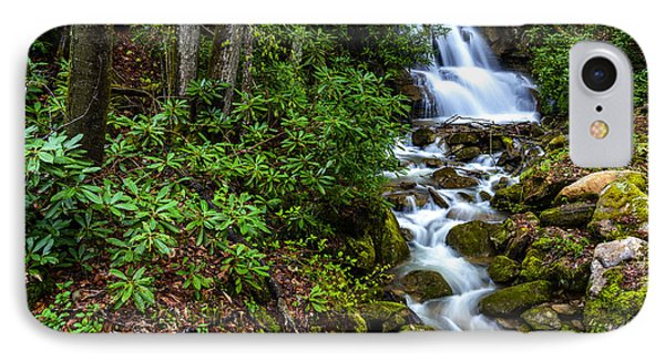 Waterfall Back Fork Of Elk River IPhone Case by Thomas R Fletcher