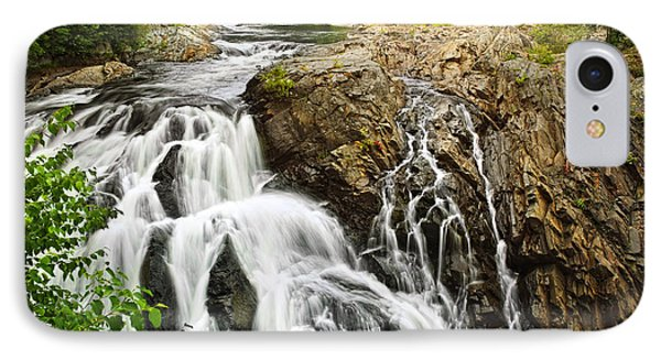 Waterfall In Wilderness Phone Case by Elena Elisseeva