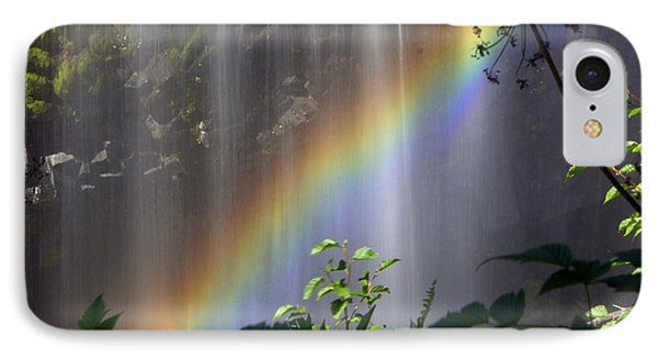 Waterfall Rainbow Phone Case by Marty Koch