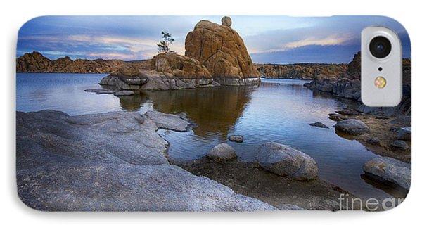 Watson Lake Arizona 14 IPhone Case by Bob Christopher