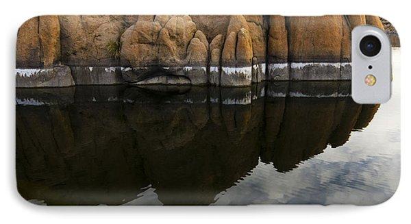 Watson Lake Arizona 7 IPhone Case by Bob Christopher