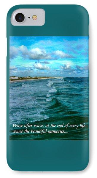 Wave After Wave IPhone Case by Julie Dant