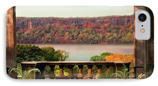 Wave Hill Pergola View IPhone Case by Jessica Jenney