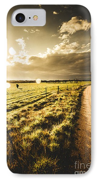 Way To Policemans Point Tasmania IPhone Case by Jorgo Photography - Wall Art Gallery