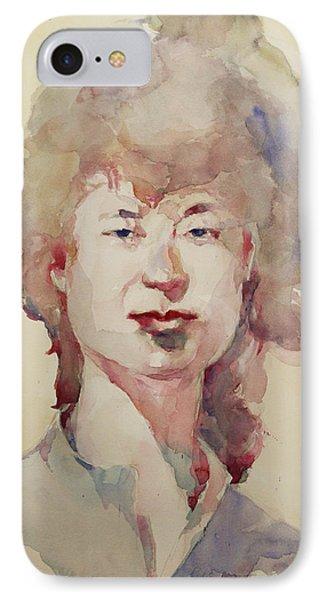 Wc Portrait 1626 My Sister Eunja IPhone Case by Becky Kim
