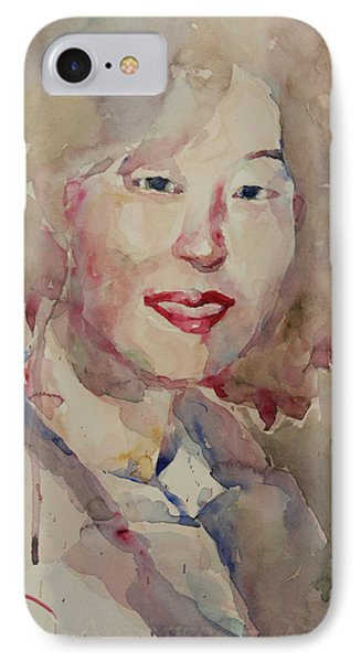 Wc Portrait 1628 My Sister Hyunsook IPhone Case by Becky Kim