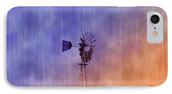 Weather Vane Sunset Phone Case by Bill Cannon
