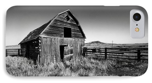 Weathered Barn IPhone Case by Todd Klassy