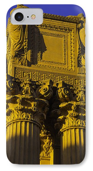 Weeping Females Palace Of Fine Arts IPhone Case by Garry Gay
