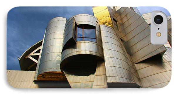 Weisman Art Museum University Of Minnesota IPhone Case by Wayne Moran