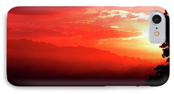 West Virginia Sunrise Phone Case by Thomas R Fletcher