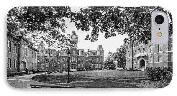 West Virginia University Woodburn Circle IPhone Case by University Icons