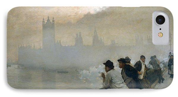 Westminster IPhone Case by Giuseppe de Nittis