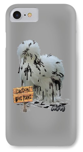 Wet Paint IPhone Case by Gilda Goodwin