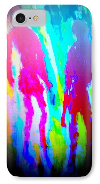 whatever the rumours say, I didnt   IPhone Case by Hilde Widerberg