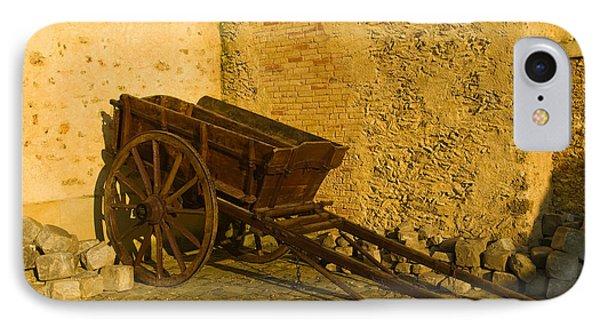 Wheelbarrow IPhone Case by Sebastian Musial