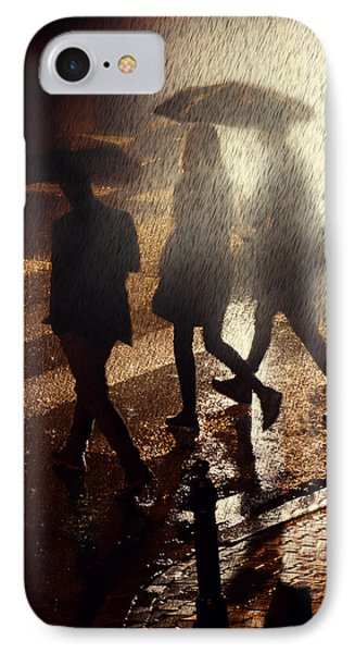 When The Rain Comes IPhone Case by Jaroslaw Blaminsky