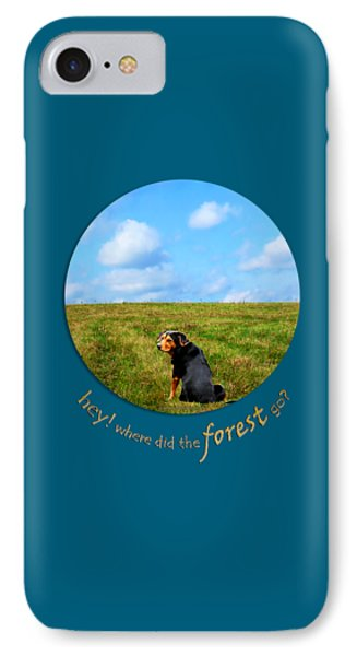 Where Did The Forest Go Phone Case by Christina Rollo