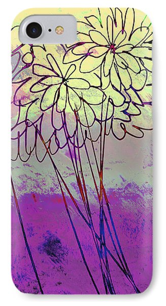Whimsical Flower Bouquet Phone Case by Ann Powell
