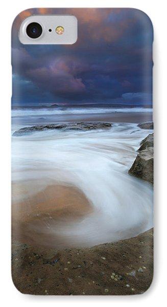 Whirlpool Dawn IPhone Case by Mike  Dawson