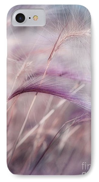 Whispers In The Wind IPhone Case by Priska Wettstein