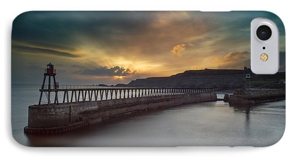Whitby Sunrise IPhone Case by Ian Barber