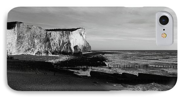 White Cliffs Of England At Seaford Head IPhone Case by James Brunker