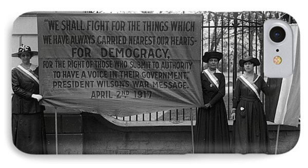 White House: Suffragettes IPhone Case by Granger