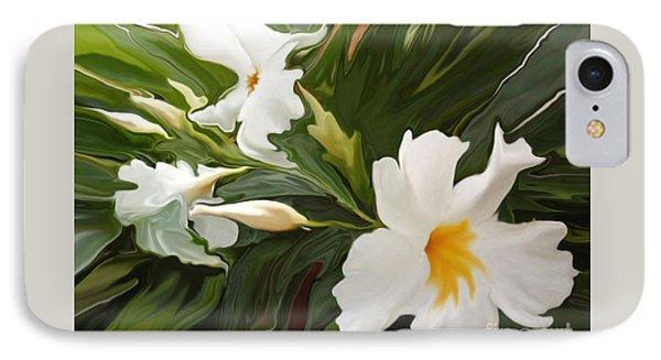White Jasmine Phone Case by Corey Ford
