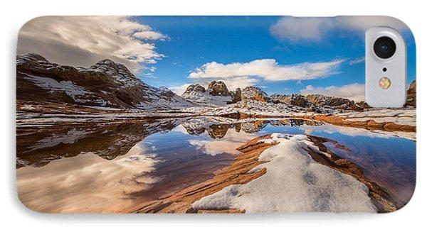 White Pocket Northern Arizona IPhone Case by Larry Marshall