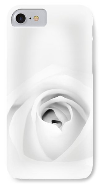 White Rose IPhone Case by Scott Norris